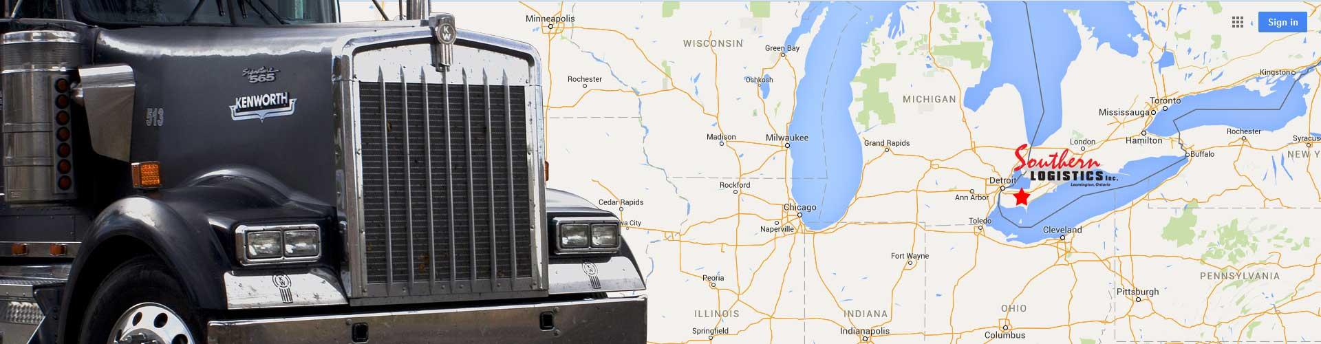 Ontario Freight Brokerage Services